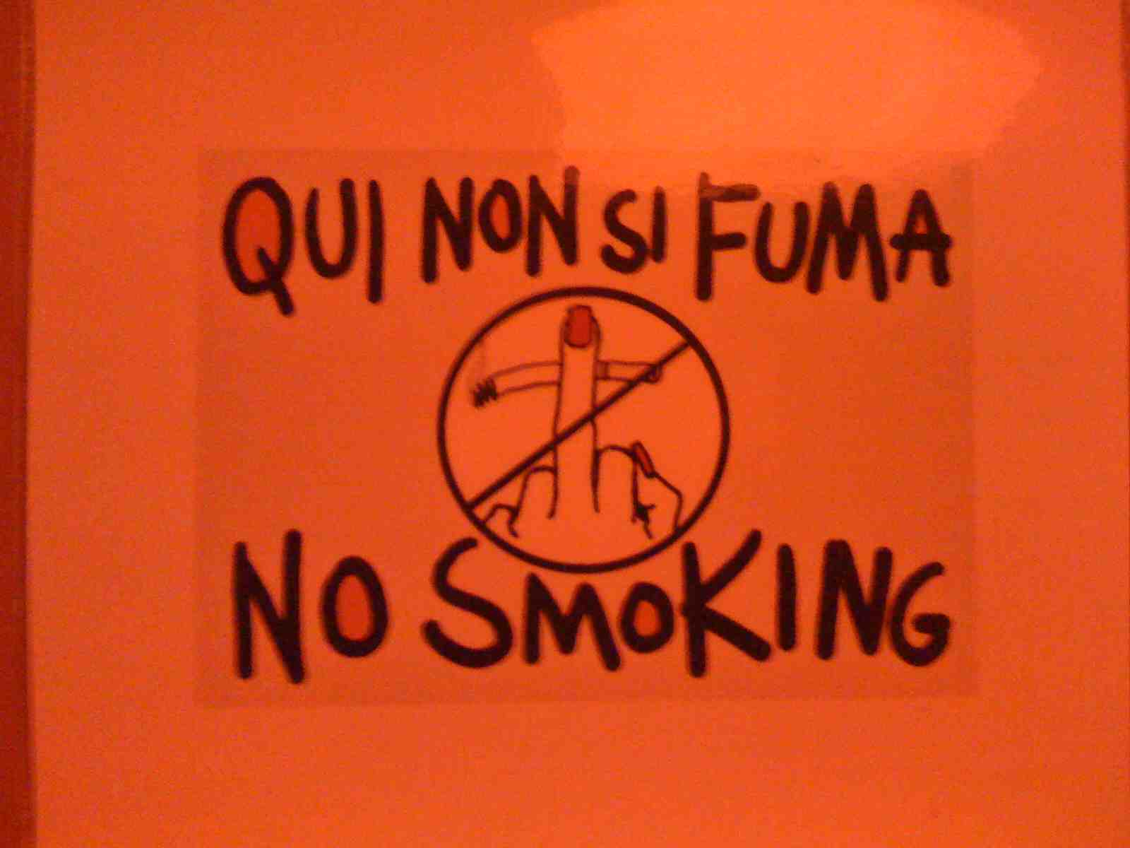 NYC- Scuderia - No Smoking